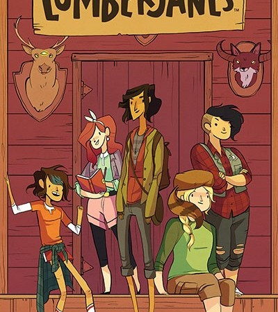 Lumberjanes Issue 1