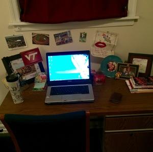 Matty Bennett's Desk