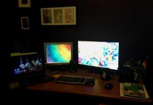 Morgan's Desk